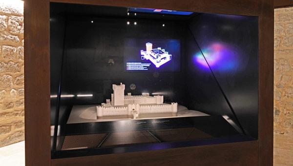 Cubo integrado por Avanzia en el Museo de Fuensaldaña