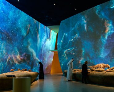 Museo-Catar-noche-proyeccion-Panasonic