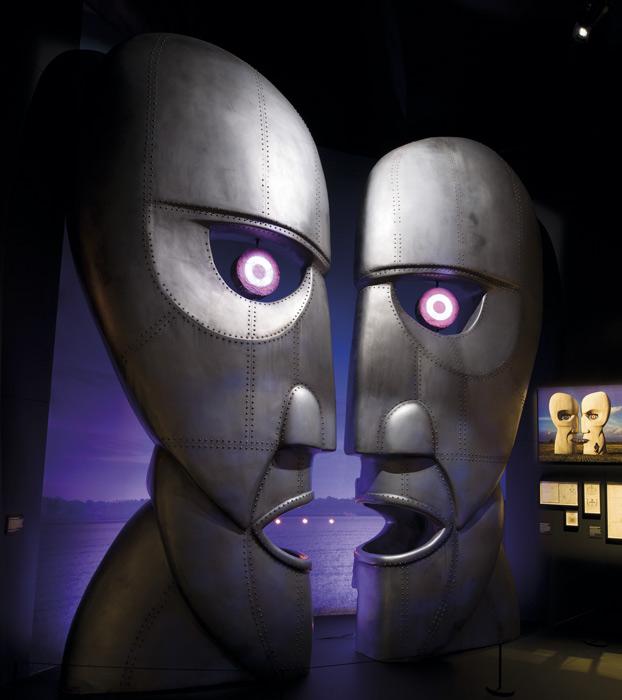 Escenografía de The Division Bell, álbum de Pink Floyd, en su exhibición